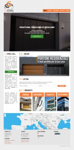Sitio web diseño industrial, business