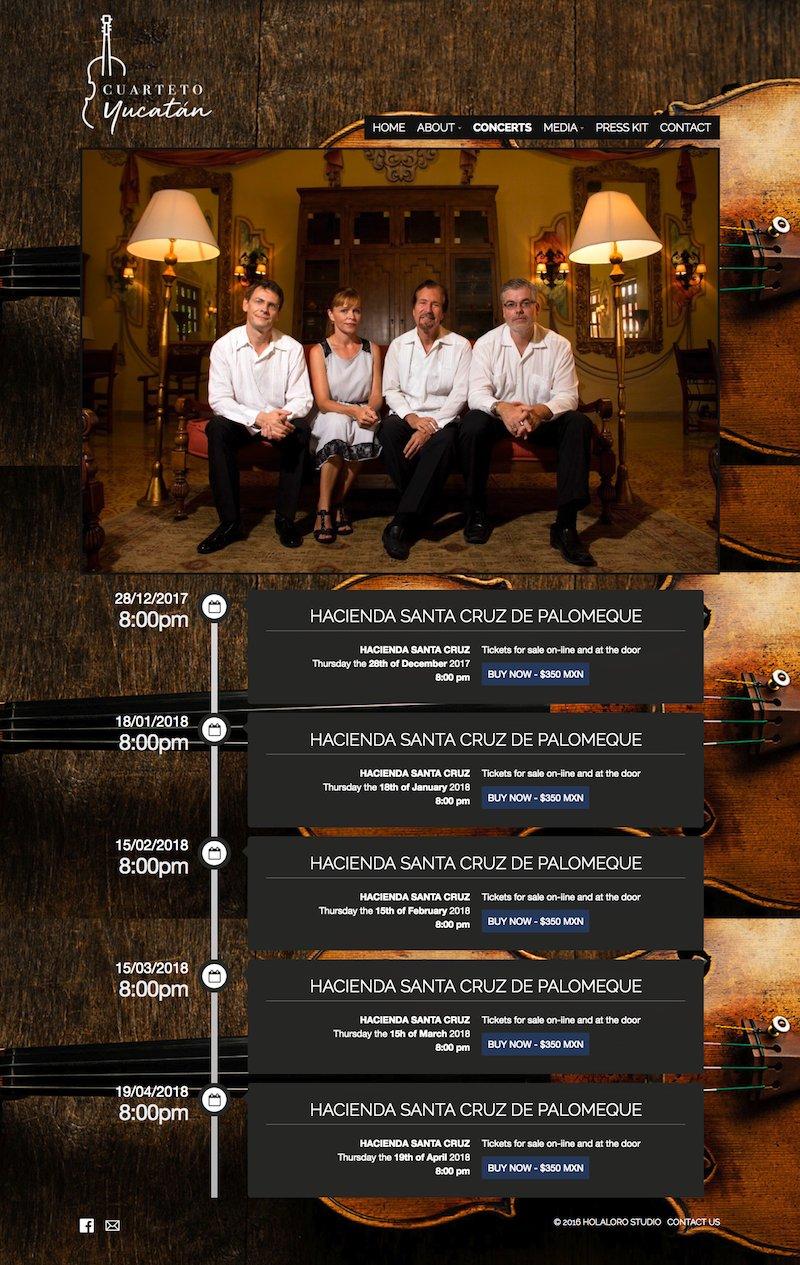 cuarteto de cuerdas, string quartet